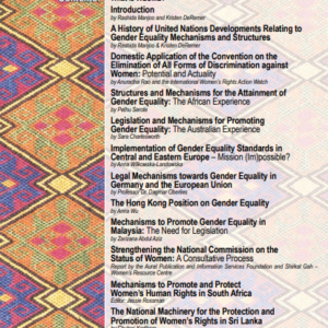 Dossier 29: Human Rights & Gender Equality