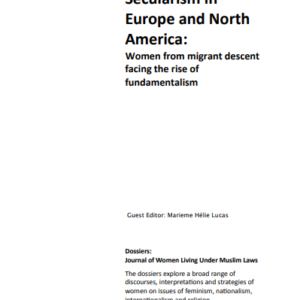 Dossier 30-31: The Struggle for Secularism in Europe and North America