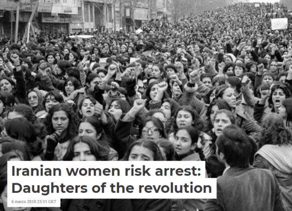Iranian women risk arrest: Daughters of the revolution