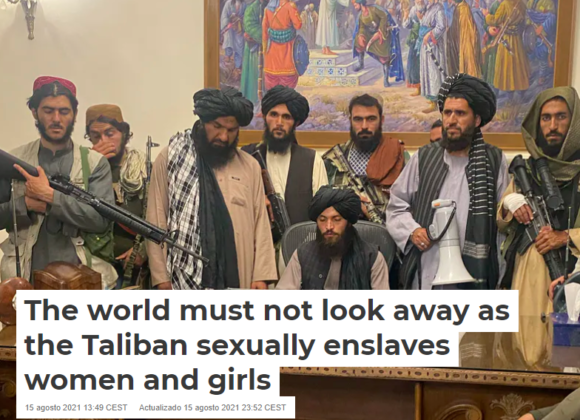 The world must not look away as the Taliban sexually enslaves women and girls