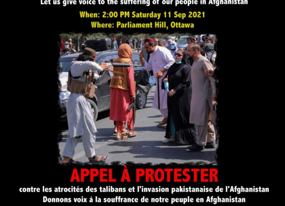 PRESS RELEASE: Solidarity with the Anti-Taliban and Anti-Pakistani-Invasion Resistance in Afghanistan (Ottawa, September 9, 2021)